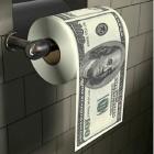 100 dolláros egészségügyi papír henger dobozban