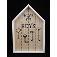 Kulcstartó fali Házikó
