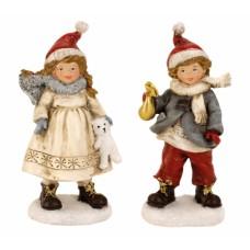 Téli gyerekek Astrid és Nils 13,5 cm