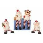 Lógólábú kerámia Karácsonyi figurák 15 cm