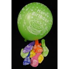 Lufi Happy Birthday 30 cm 10 db/szett