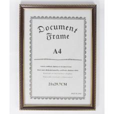 Képkeret Document Gold
