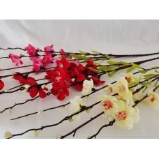 Japánbirs virágzó ág 100 cm 3 szín