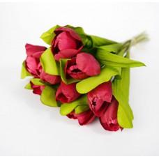 Tulipán csokor 9 szálas