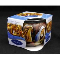 Illatgyertya poharas - Holy Family