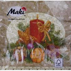 Szalvéta Karácsony Díszes
