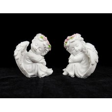 Szendergő angyalkák 7 cm