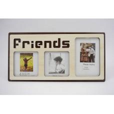 Képkeret - Friends 3 db-os