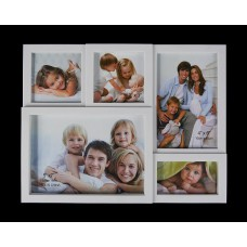 Képkeret osztott 5 képnek