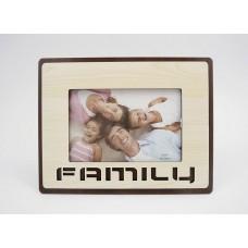 Képkeret - Family 15*10 cm