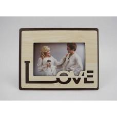 Képkeret - Love 15*10 cm