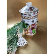 Dr. Wu gyógyteás bögre porcelán szűrővel 250 ml