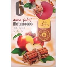 Mécses illatos Alma-fahéj 6db/doboz