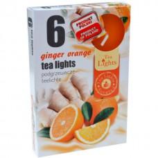 Mécses illatos Gyömbér-narancs 6db/doboz