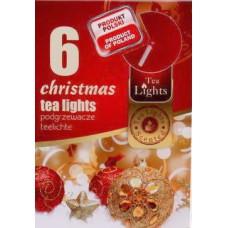 Mécses illatos Karácsony 6db/doboz