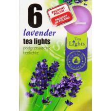 Mécses illatos Levendula 6db/doboz