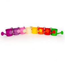 Fém locsolókanna Colors 10*9 cm