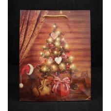 Dísztasak Karácsonyfa L méret