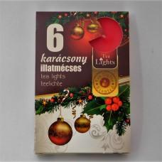 Illatos mécses  6 db/doboz különböző illatokban