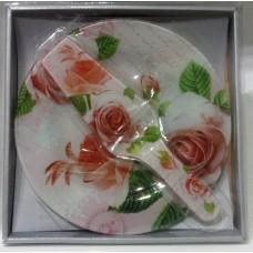 Tortatál+tortalapát üveg Rózsa legendája