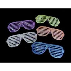 Parti szemüveg - glitter