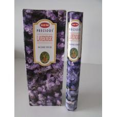 Füstölő pálca HEM (hexa) 20 db - Precious Lavendel / Levendula /