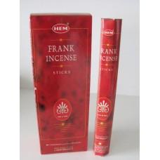 Füstölő pálca HEM (hexa) 20 db Frank Incense / Tömjén /