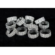Gyűrű strasszos III