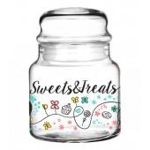 Üvegtároló Sweets & Treats nagy