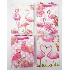 Dísztasak Flamingó S méret