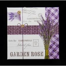 Díszdoboz szett négyzet alakú, Garden Rose