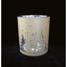 Mécsestartó pohár Téli éj 2 színben