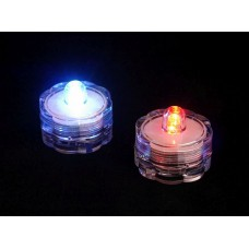 Színváltós, vízálló LED teamécses 2 db