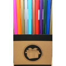 Díszcsomagoló papír egyszínű Colors 2 m*70 cm