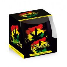 Poharas illatgyertya Santo Cannabis 100 g