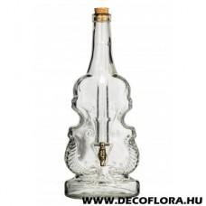 Csapos üvegpalack Hegedű 1,5 l