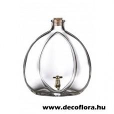 Csapos üvegpalack Silvanum 1,5 l