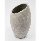 Kőhatású kerámia váza